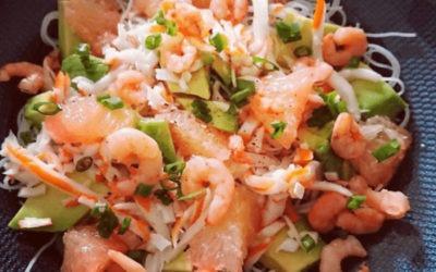 Recette salade des îles